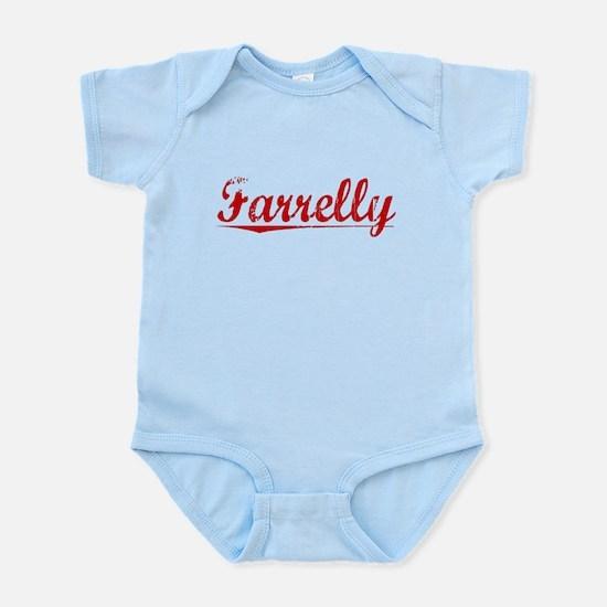 Farrelly, Vintage Red Infant Bodysuit