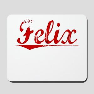 Felix, Vintage Red Mousepad