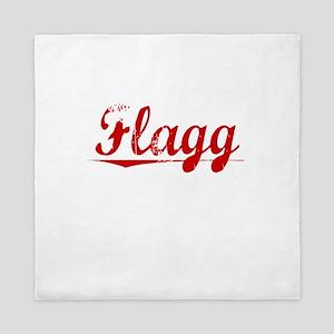 Flagg, Vintage Red Queen Duvet