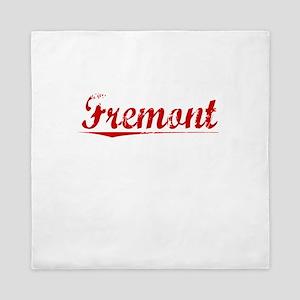 Fremont, Vintage Red Queen Duvet