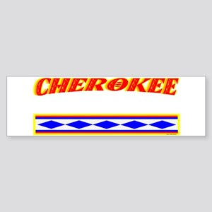 CHEROKEE TRIBE Sticker (Bumper)