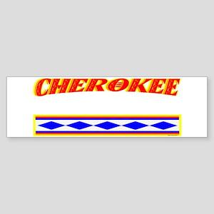CHEROKEE TRIBE Sticker (Bumper)