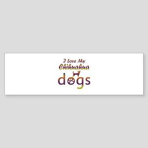 Chihuahua designs Sticker (Bumper)