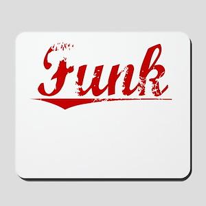 Funk, Vintage Red Mousepad