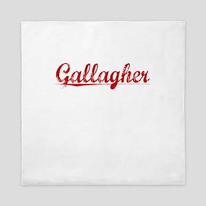 Gallagher, Vintage Red Queen Duvet