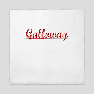 Galloway, Vintage Red Queen Duvet