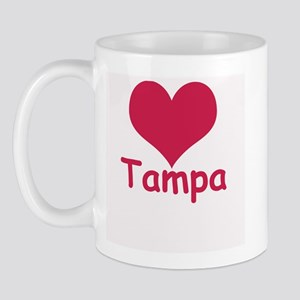 Heart Tampa Right-handed Mug