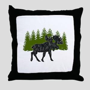 THE EDGE OF Throw Pillow
