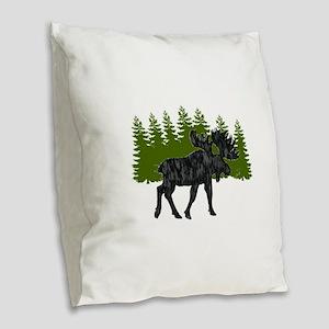 THE EDGE OF Burlap Throw Pillow