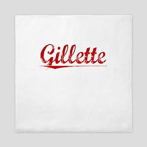 Gillette, Vintage Red Queen Duvet