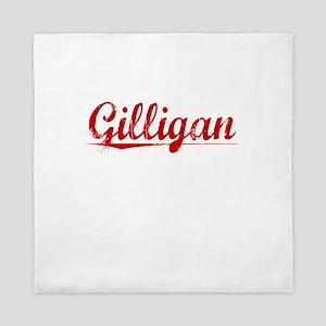 Gilligan, Vintage Red Queen Duvet
