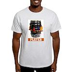 Dhol Player Ash Grey T-Shirt