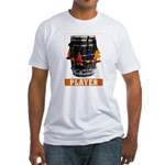 Dhol Player Fitted T-Shirt