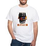 Dhol Player White T-Shirt