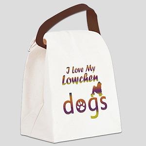 Lowchen designs Canvas Lunch Bag