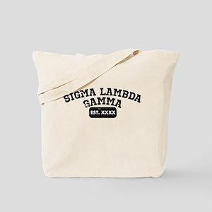 Alpha Sigma Alpha Athletic Tote Bag