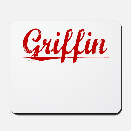 Griffin, Vintage Red Mousepad