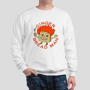 Funny Gingerbread Man Sweatshirt
