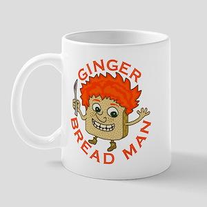 Funny Gingerbread Man Mug