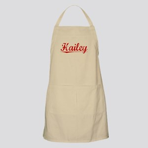 Hailey, Vintage Red Apron