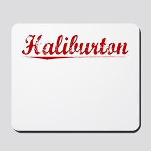 Haliburton, Vintage Red Mousepad