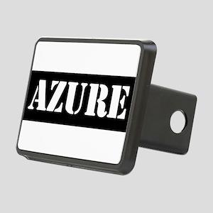 Azure Rectangular Hitch Cover