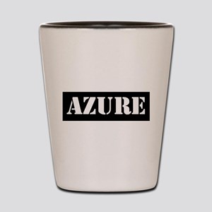 Azure Shot Glass