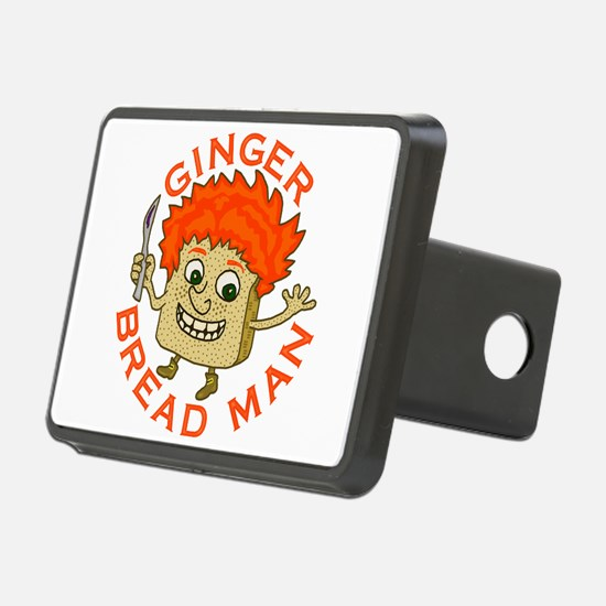 Funny Gingerbread Man Hitch Cover