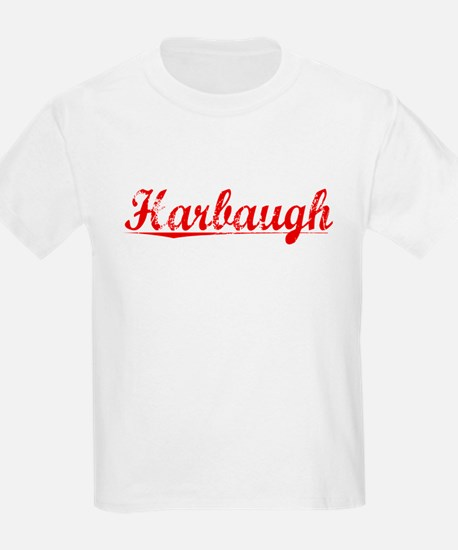 Harbaugh, Vintage Red T-Shirt