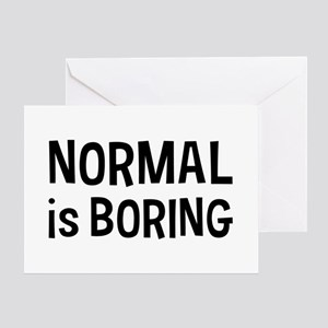 Normal Boring Greeting Card
