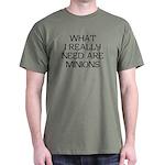 What Minions Dark T-Shirt