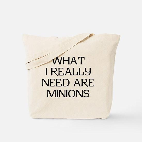 What Minions Tote Bag