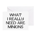 What Minions Greeting Card