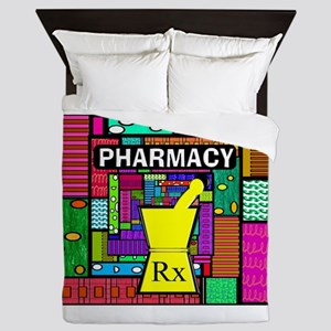 Pharmacy Queen Duvet