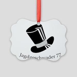 Jagdgeschwader 77 Tophat Picture Ornament