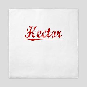 Hector, Vintage Red Queen Duvet