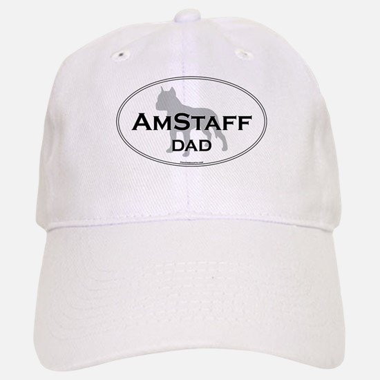 Am Staff Terrier DAD Baseball Baseball Cap