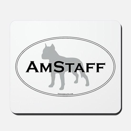 Am Staff Terrier Mousepad