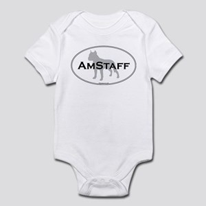 Am Staff Terrier Infant Creeper