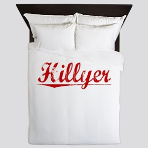 Hillyer, Vintage Red Queen Duvet
