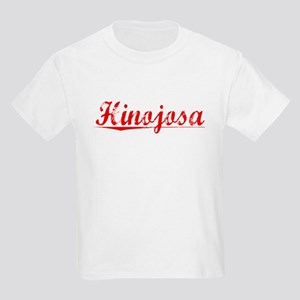 Hinojosa, Vintage Red Kids Light T-Shirt