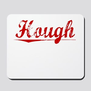 Hough, Vintage Red Mousepad