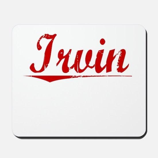 Irvin, Vintage Red Mousepad