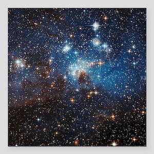"LH95 Stellar Nursery Square Car Magnet 3"" x 3"""