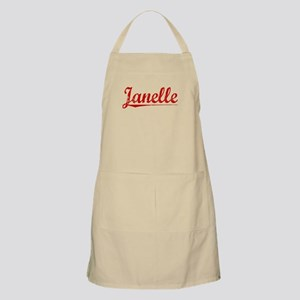Janelle, Vintage Red Apron