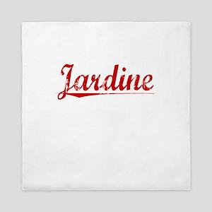 Jardine, Vintage Red Queen Duvet