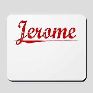 Jerome, Vintage Red Mousepad