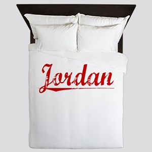 Jordan, Vintage Red Queen Duvet