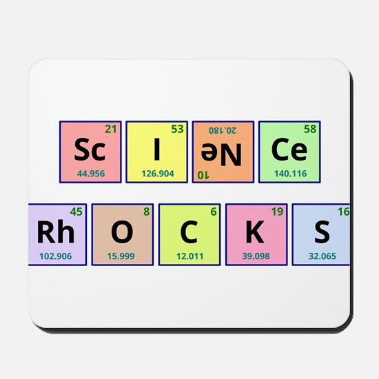 Science Rocks Mousepad