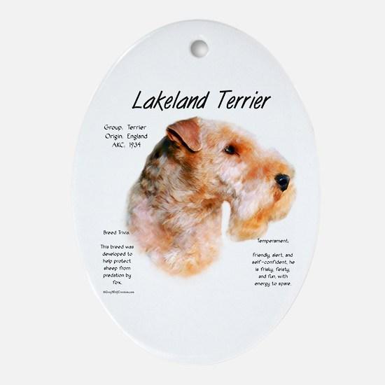 Lakeland Terrier Oval Ornament